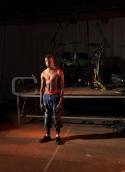 Freestyle hip-hop dancer