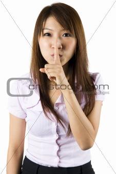 Shhhhh.