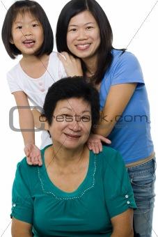 Three generations.