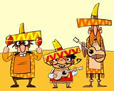 Funny mexican pop group