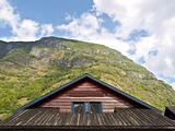 Cabin Wooden Roof