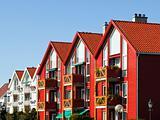 Stavanger Houses in the Lysefjord