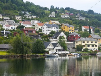 Nordheimsund Harbor