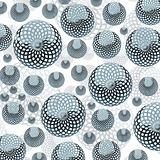 several spherical objects