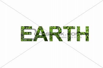 Green ecological earth