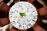 wedding breakfast table