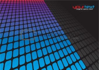 3D Squares Grid Layout