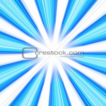 Blue Abstract Vortex