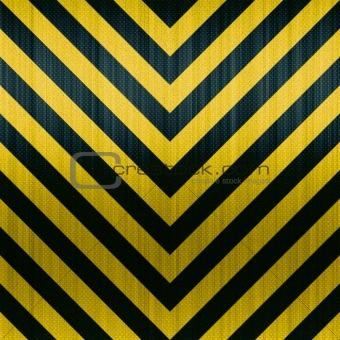 Carbon Fiber Hazard Stripes