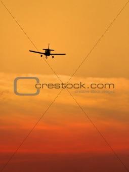 small landing plane