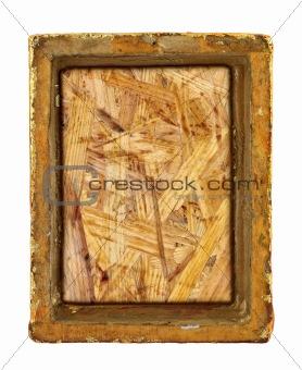ruined gilded frame