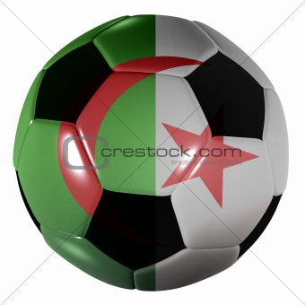 football algeria flag