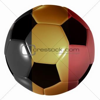 football belgium flag