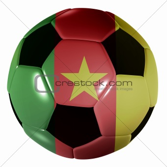 football camaroon flag