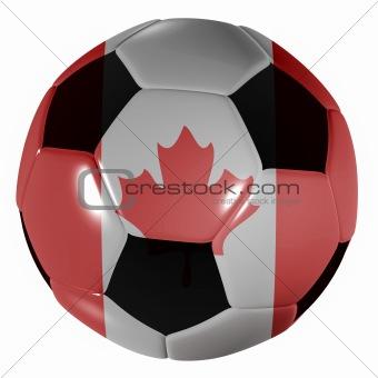 football canada flag