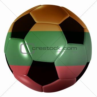 football lithuania flag