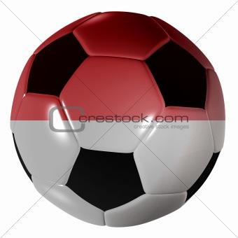 football monaco flag