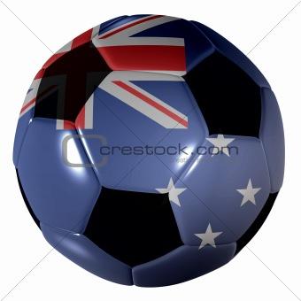 football new zealand flag