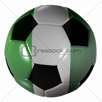football nigeria flag