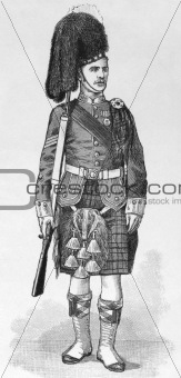 1894 Scottish Sergeant