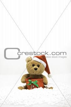 small christmas bear