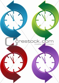 Clock Backwards