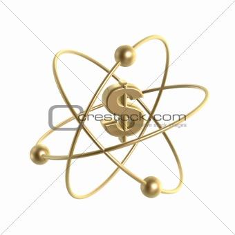atom dollar structure