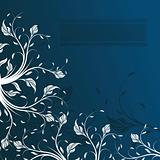 Abstract floral background, element for design