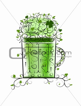 Green Patrick's beer for your party