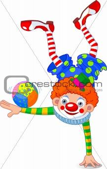 Acrobat Clown