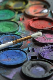 PAINTBOX, WATER COLOR