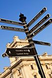 Signpost in London