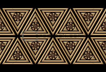 several geometric figures