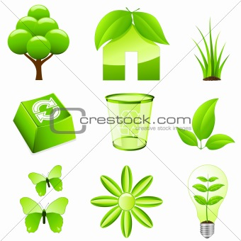 green ecology signs