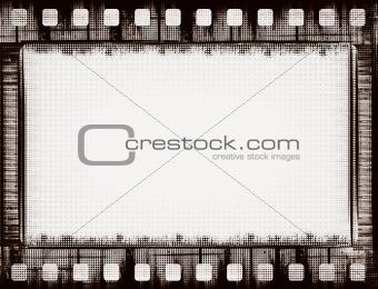 grunge film frame