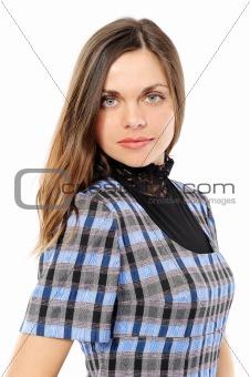 Beautiful positive young woman