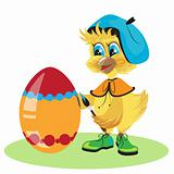 chicken egg dye for Easter