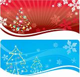 Abstract Xmas background