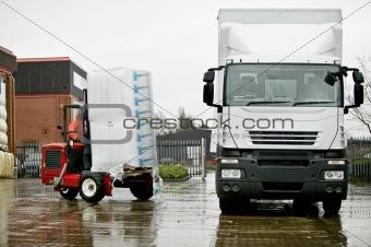 Moffett Truck Mounted Forklift