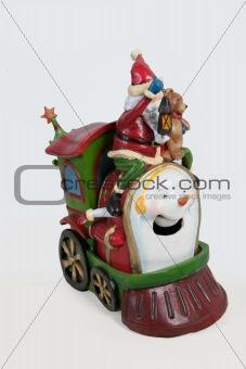 Santa On Locomotive