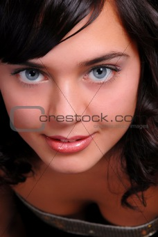 portrait of beautiful girl