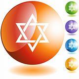 Jewish Star Icon