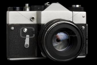 Old SLR camera
