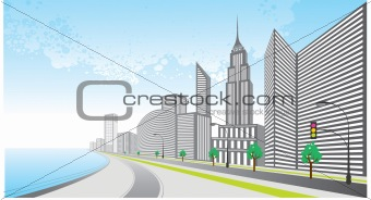 City background