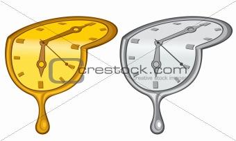 Liquid clock