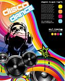 Discoteque promotional event Flyer