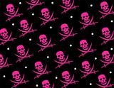 Skull Jolly Roger Repeat Pattern