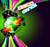 Music Event Background for Disco Flyers