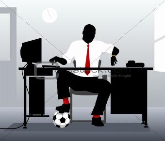 Football desk