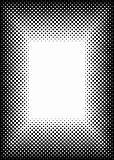halftone picture frame border